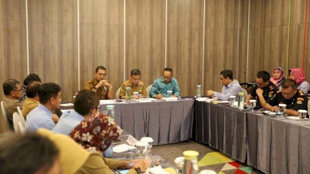 Roundtable discussion soal lintas batas perairan Kota Makassar. (ist)