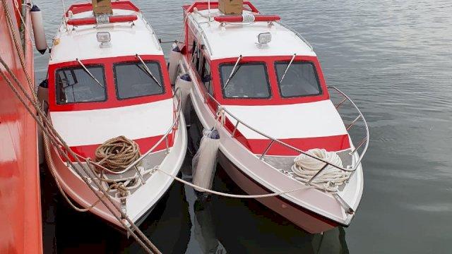 Diskes Sulsel Siagakan Lima Unit Ambulans Laut di Dermaga Paotere