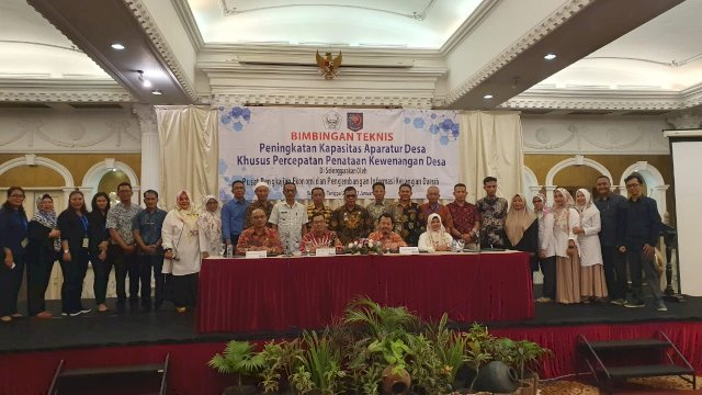 240 Aparatur Desa di Luwu Utara Ikut Bimtek di Surabaya