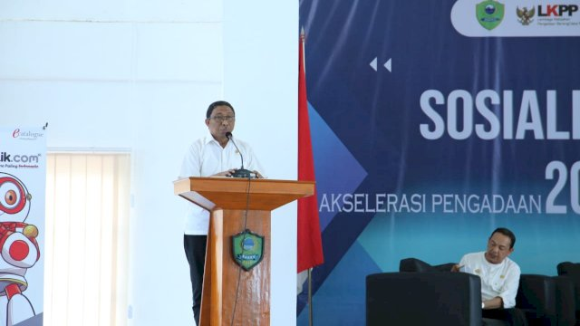 Wakil Bupati Barru Nasruddin. (ist)