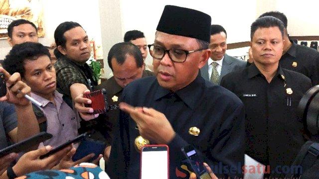Gubernur Sulsel, Nurdin Abdullah. (Sulselsatu/Jahir Majid)