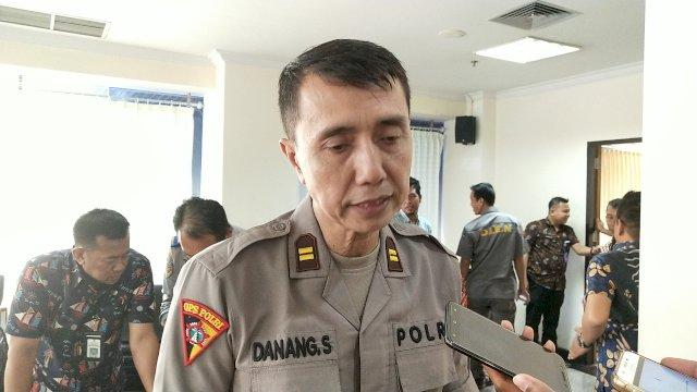Kaur Ops Bagian Operasional Polrestabes Makassar Iptu Danang Sulistiono. (ist)