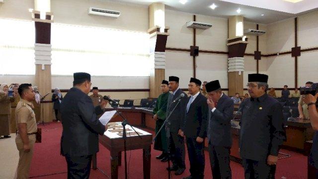 Empat Pejabat Pimpinan Tinggi Pemprov Sulsel Mengundurkan Diri