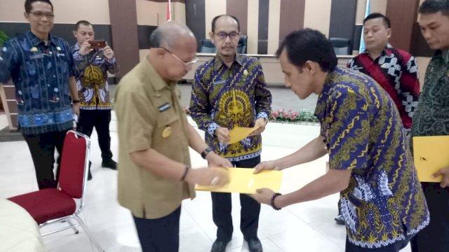 Iksan Iskandar Tunjuk Empat Pejabat Jadi Pelaksana Tugas