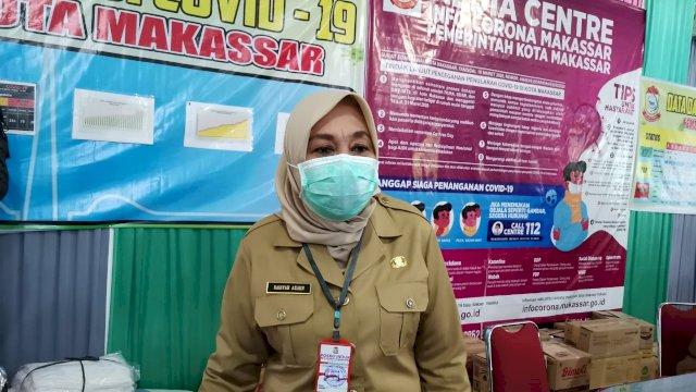 Kepala Dinas Kesehatan Kota Makassar, Naisyah Tun Azikin. (ist)