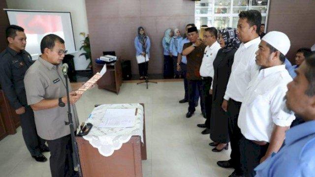 Iqbal Suhaeb Lantik Dewas Perumda Air Minum Makassar