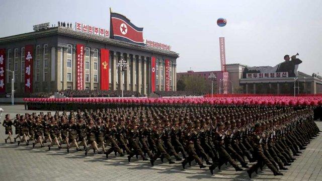 Militer Korea Utara. (Foto/Int)