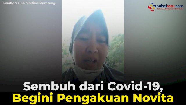 VIDEO: Sembuh dari Covid-19, Begini Pengakuan Novita