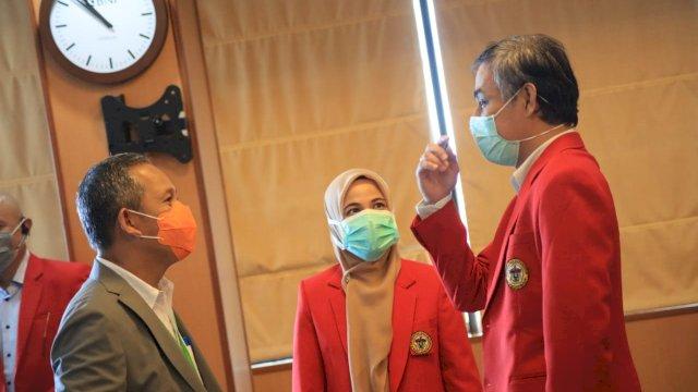 Rektor Unhas Siap Dukung 1 Tahun Kepemimpian Pj Wali Kota Makassar