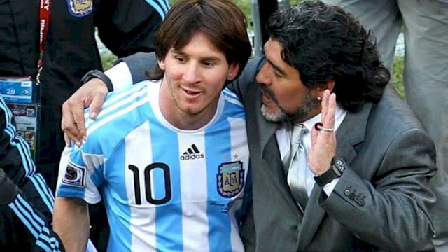 Cannavaro Bandingkan Kehebatan Maradona dan Messi