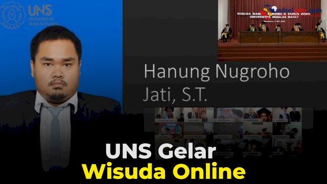 VIDEO: UNS Gelar Wisuda Online