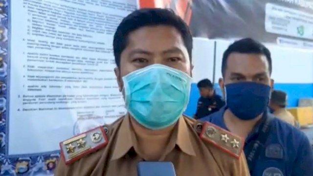 Jubir Gugus Tugas Penanganan Covid-19 Sinjai Irwan Suaib. (ist)