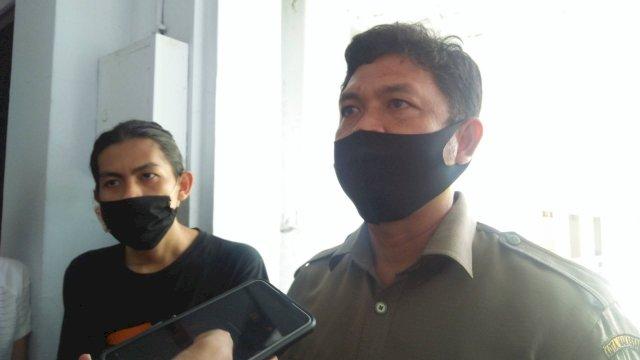 Dirut PD Parkir Makasar Raya Irham Syah Gaffar. (ist)