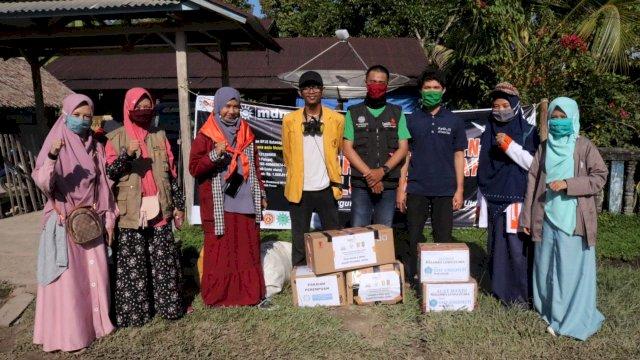 Lazismu dan AMM Makassar Kirim Tiga Ton Bantuan ke Masamba