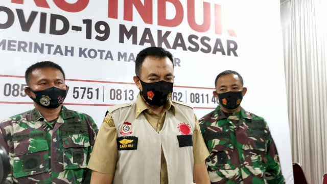 Ketua Satgas Penegakan Disiplin Gugus Tugas Covid-19 Kota Makassar, M Sabri. (ist)