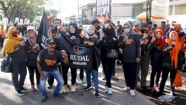 Relawan Rusdin Abdullah Solid Dukung Danny-Fatma