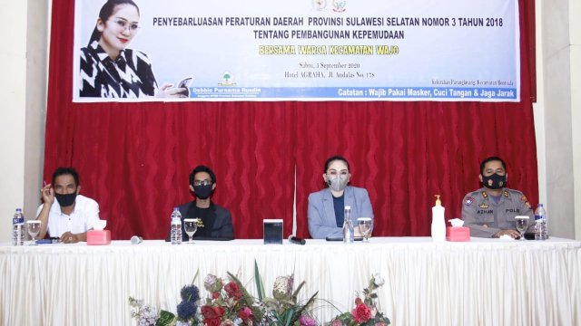 Wakil Rakyat Tanpa Sekat, Creator Makassar Puji Sikap Debbie