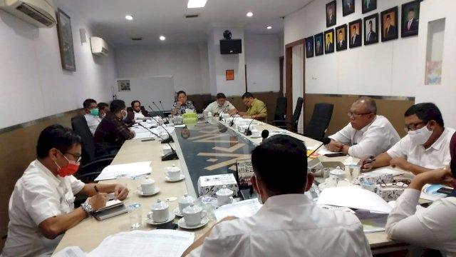Dinas PU Raker Bareng Komisi C, Dewan Harap Ada Sinergi Dalan Penyusunan Program