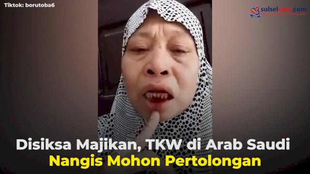 VIDEO: Disiksa Majikan, TKW di Arab Saudi Nangis Minta Pertolongan