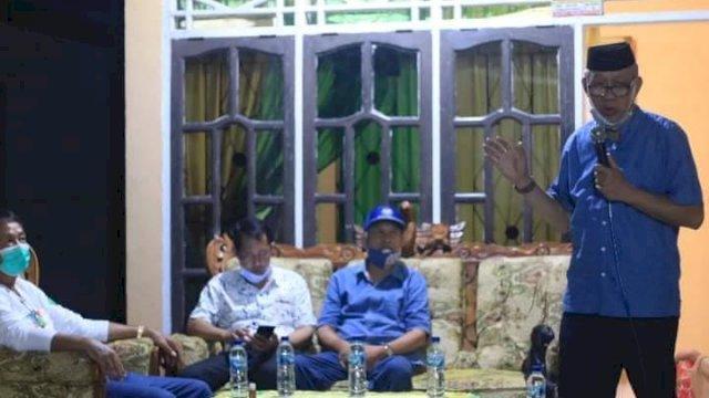 Kasim Alwi Ajak Warga Dukung Tahar-Rahmat di Pilkada Lutra
