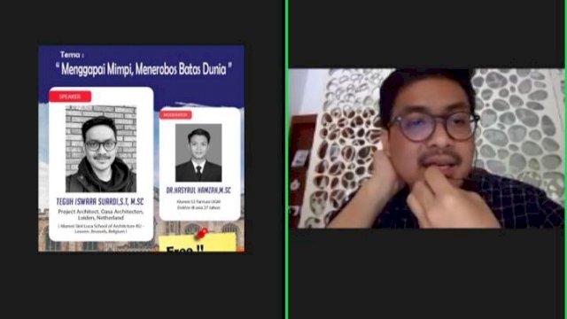 Sobat Milenial SS-AK Gelar Webinar Tips Belajar ke Luar Negeri