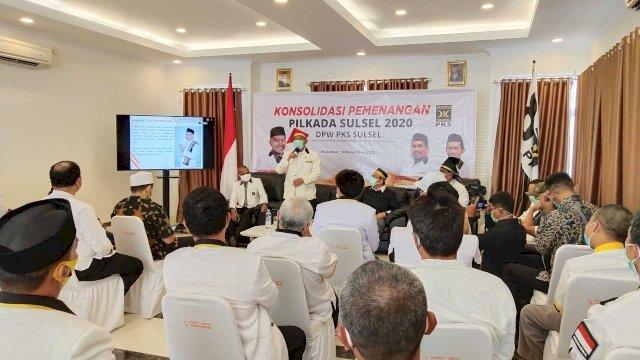 Konsolidasi Pilkada di Makassar, Presiden PKS ke Kader: Gaspol