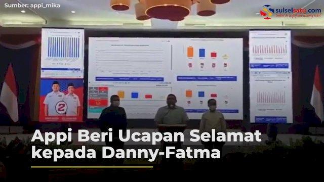 VIDEO: Appi Beri Ucapan Selamat kepada Danny-Fatma