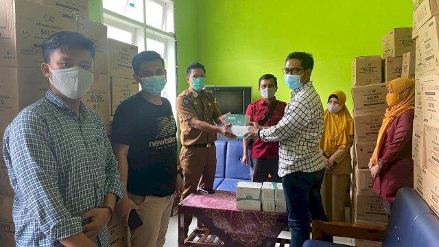 Bantuan Masker Anir Peduli Kini Berlabuh di Kabupaten Sinjai