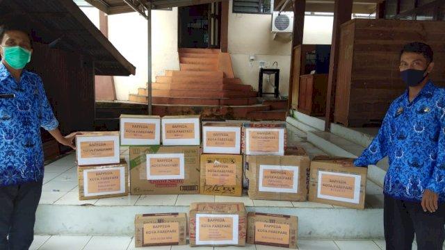 Peduli, Bappeda Parepare Kirim Bantuan Logistik untuk Korban Gempa Sulbar