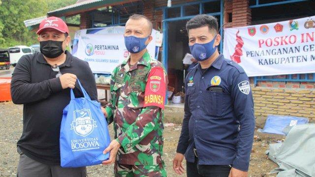 PT Semen Bosowa Bertolak ke Sulbar, Salurkan Bantuan Sembako, Terpal dan Genset