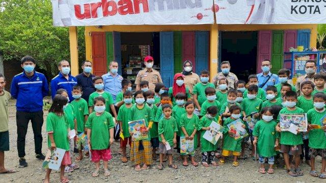 Dinas Sosial dan Pokja Bunda PAUD Sulsel Kolaborasi Bantu Korban Gempa Sulbar
