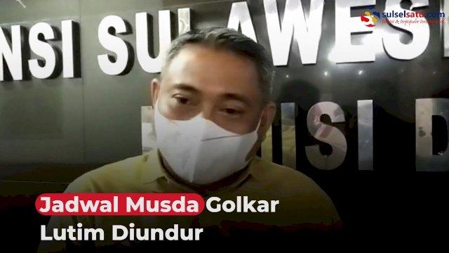 VIDEO: Jadwal Musda Golkar Lutim Diundur
