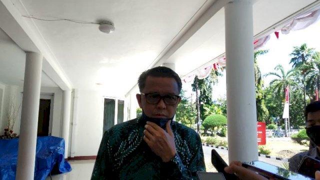 Gubernur Sulsel nonaktif, Nurdin Abdullah. (Foto: Jahir Majid)