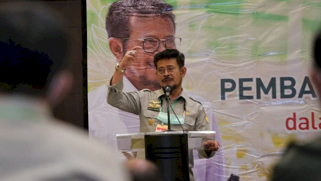 Mentan RI Syahrul Yasin Limpo.
