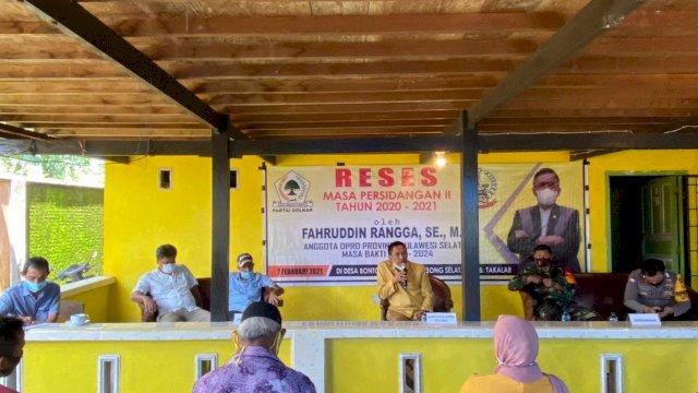Fahruddin Rangga Janji Fasilitasi Warga Soal Bantuan Pertanian