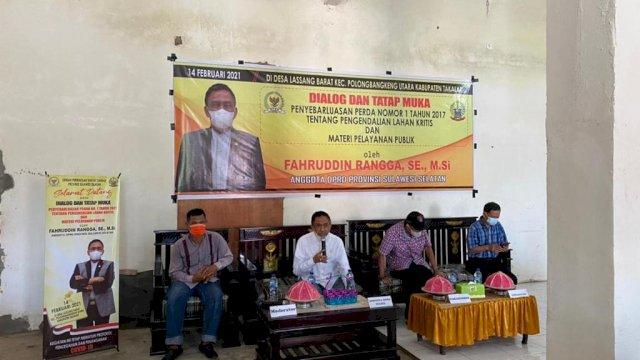 Fahruddin Rangga Sosper Pengendalian Lahan Kritis di Desa Lassang