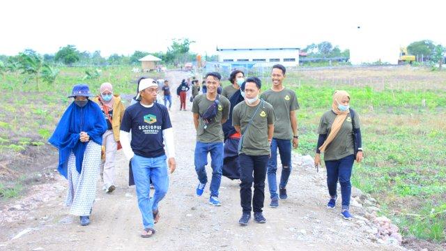 Forum Tani Muda Karang Taruna Kecamatan Barru Belajar Porang di Sidrap