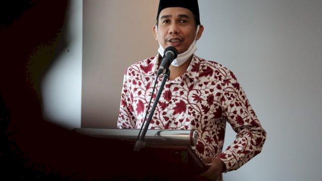 Ketua Dewan Pendidikan Kota Makassar, Rudianto Lallo.