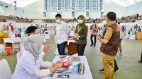 Kemenkes RI Tinjau Pelaksanaan Vaksinasi Massal di Unhas