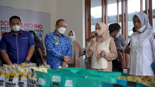 Andi Nirawati Berdayakan Pelaku UMKM di Pangkep Lewat Ontime House