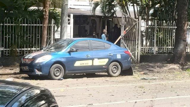 Pasca Ledakan di Gereja Katedral Makassar, Potongan Tubuh Berserakan