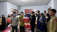 Jalankan Instruksi Gubernur, Dinsos Sulsel Gerak Cepat Bantu Korban Angin Puting Beliung di Sidrap