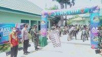 Launching Tagline ASR,Kodim 1425 Jeneponto Bagi 250 Paket Sembako