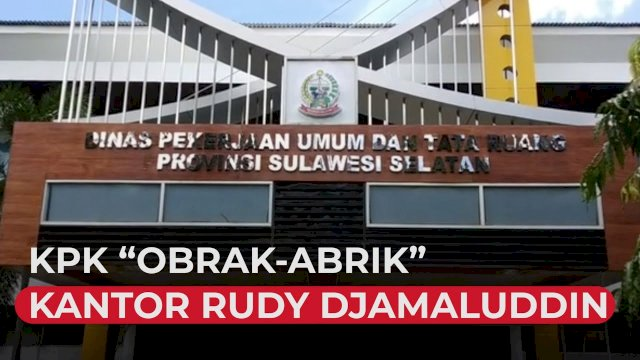 "VIDEO: KPK ""Obrak-abrik"" Kantor Rudy Djamaluddin"