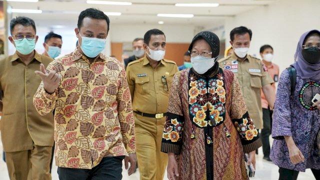 Mensos Kunjungi Korban Bom Gereja Katedral Makassar