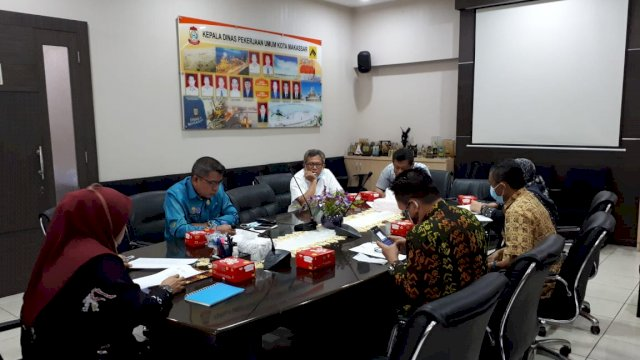 Dinas PU Makassar Rakor Bahas Hibah PAMSIMAS