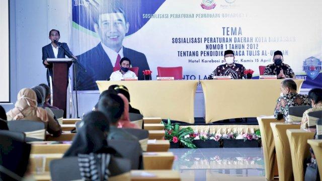 Tingkatkan Pemahaman dan Kemampuan, Ketua DPRD Makassar Sosialisasi Perda Baca Tulis Al-Qur'an