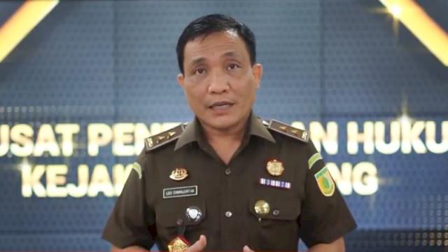 Kapuspen Kejagung RI, Leonard Eben Ezer Simanjuntak.
