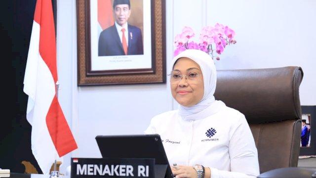 Menteri Tenaga Kerja (Menaker) Ida Fauziah.