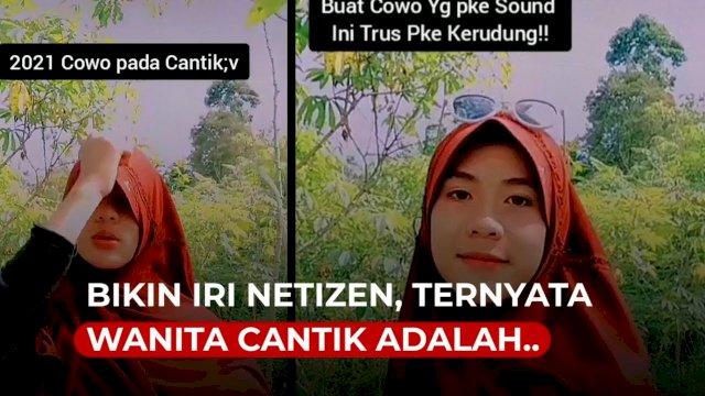 VIDEO: Bikin Iri Netizen, Ternyata Wanita Cantik Berjilbab Ini Adalah Pria